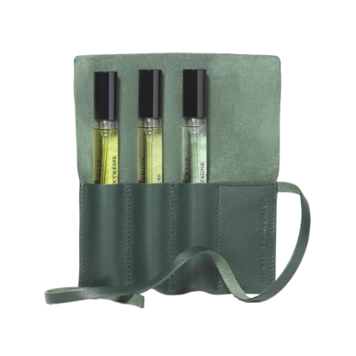 Personalisable pouch - Spruce green